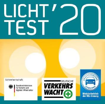 Licht-Test-Plakette 2020